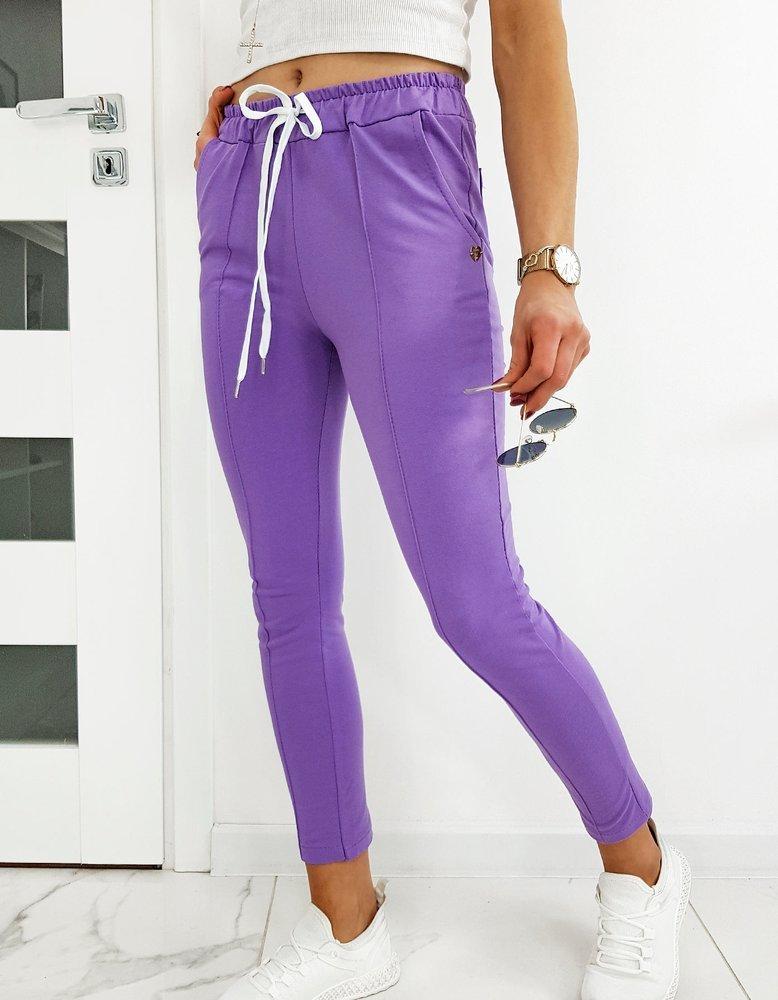 Spodnie damskie MISTIC lila UY0515