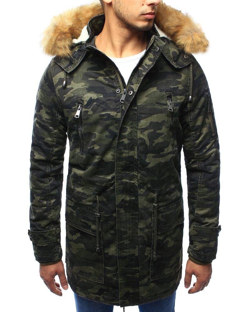 Pánska maskáčová zimná bunda (tx1975)