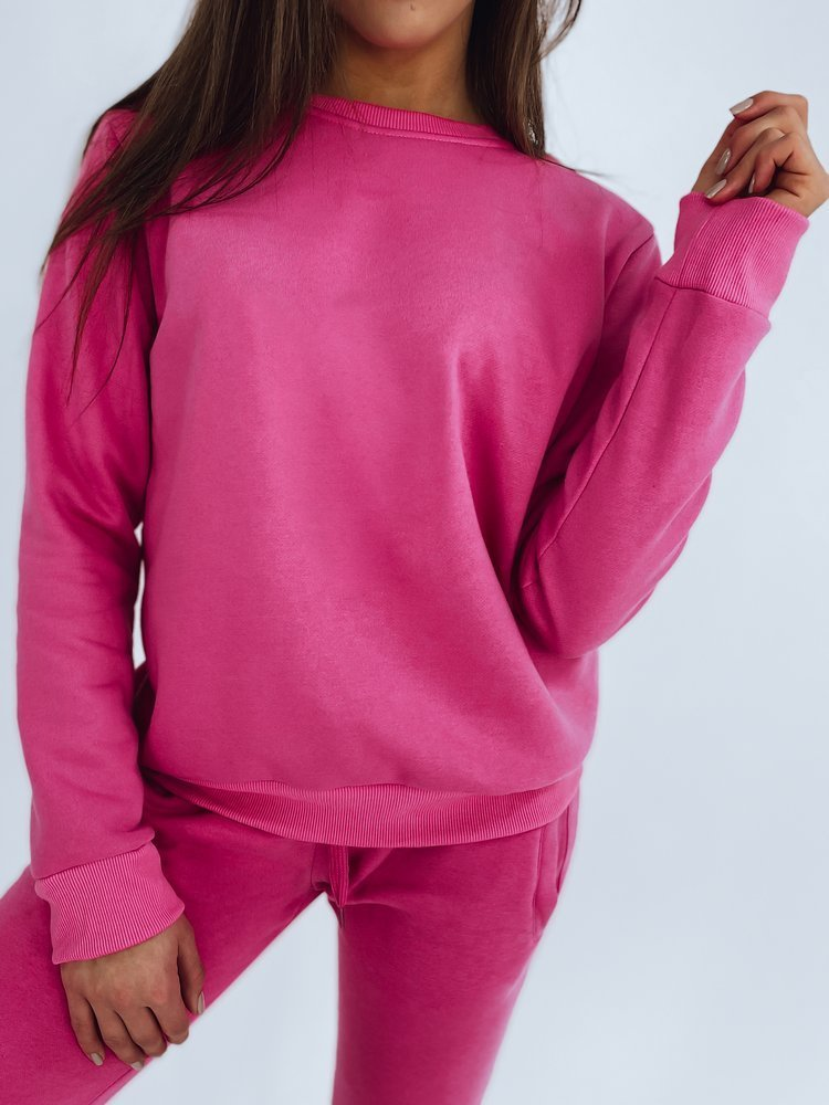 Bluza damska FASHION II różowa BY0153