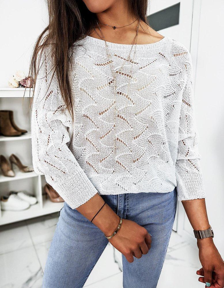 Sweter damski MOLLY biały MY0744