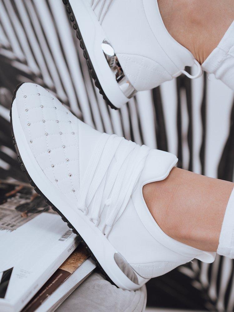 Sneakersy damskie LONI białe Dstreet ZY0072
