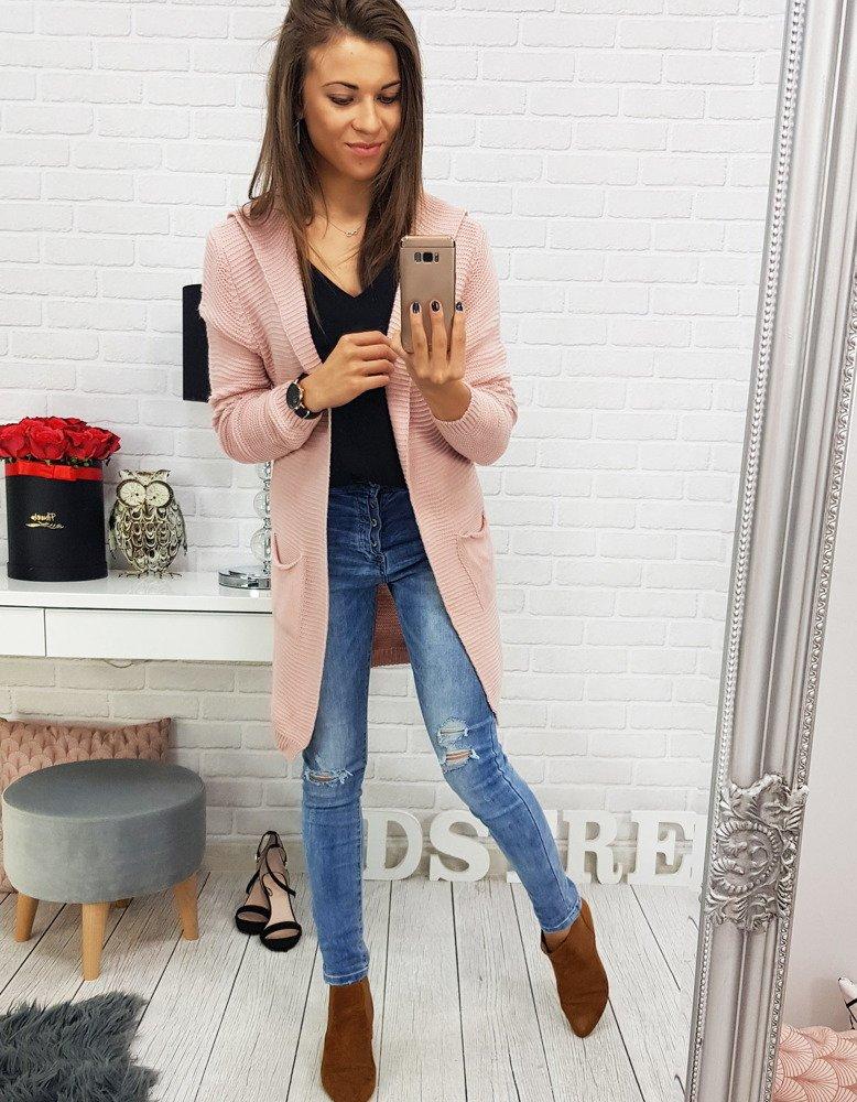 Elegantný dlhý dámsky sveter (my0329)