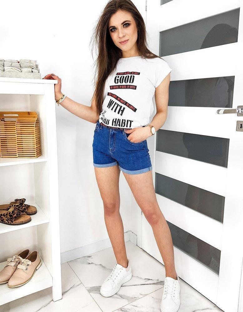 T-shirt damski GOOD biały RY1326