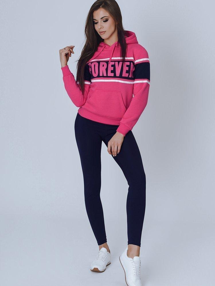 Bluza damska GRAPE różowa BY0852