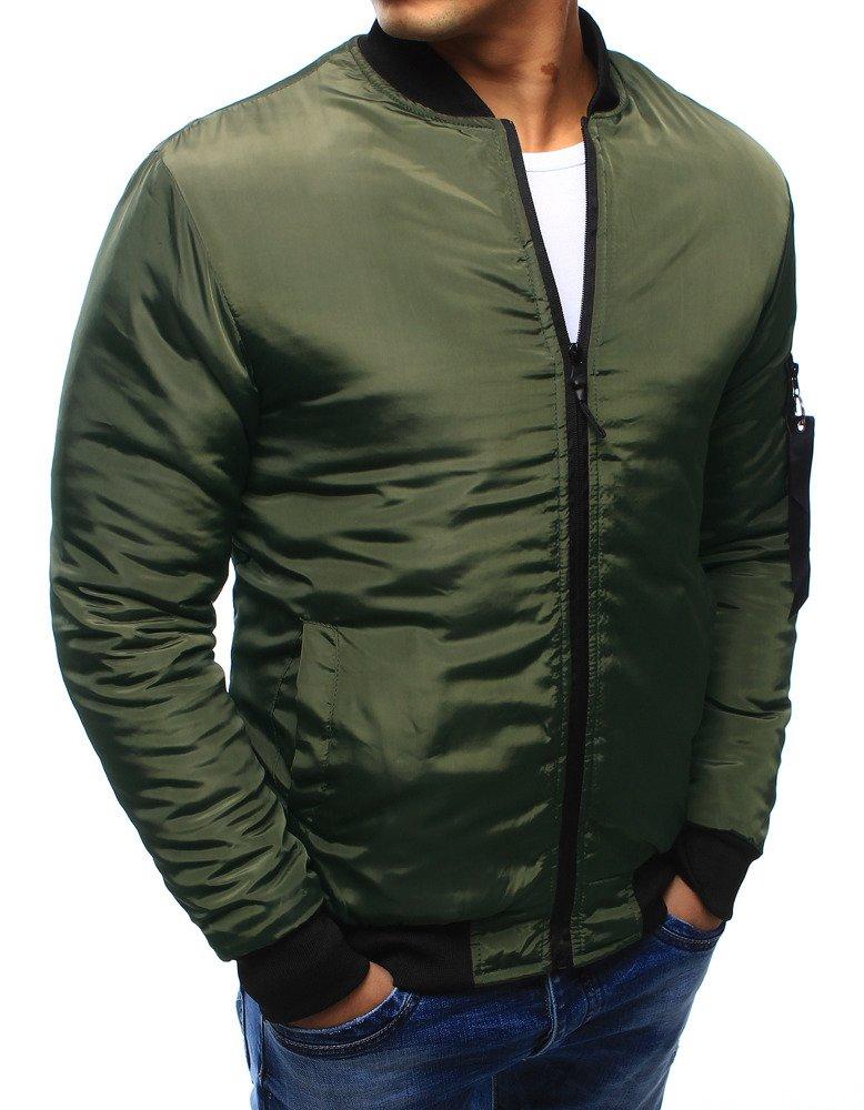 3d0ba425543b Pánska bunda bomber jacket zelená. 13473  13473 ...