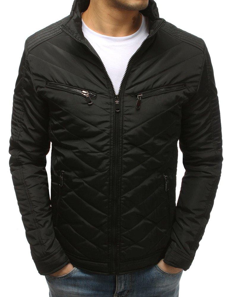 Štýlová pánska zimná bunda bez kapucne (tx2566)