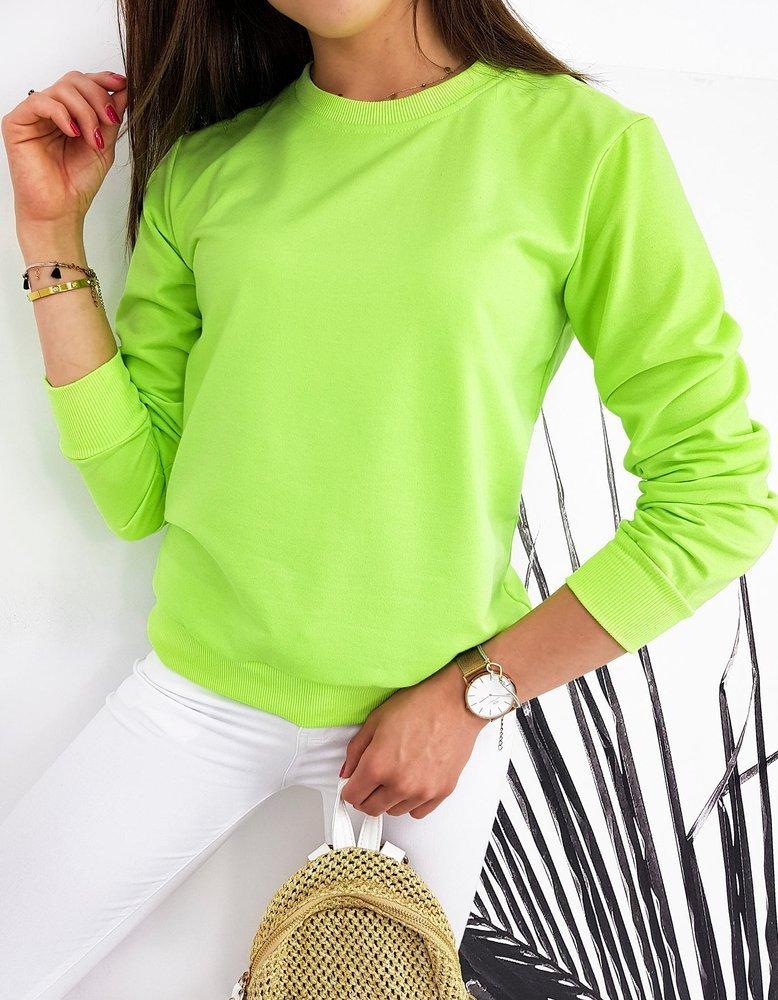 Bluza damska CARDIO limonkowa BY0440