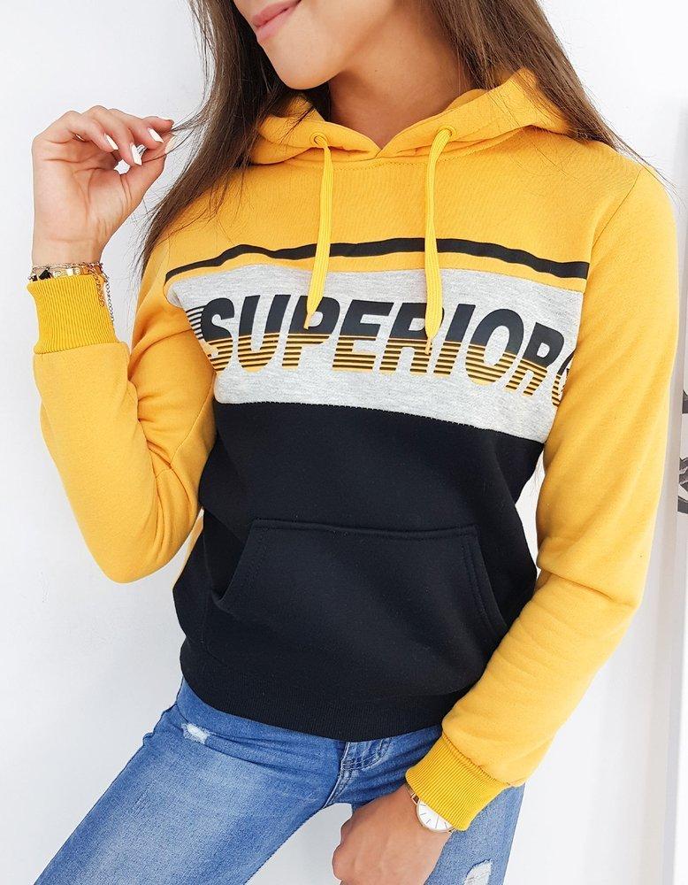 Bluza damska SUPERIOR II żółta BY0460