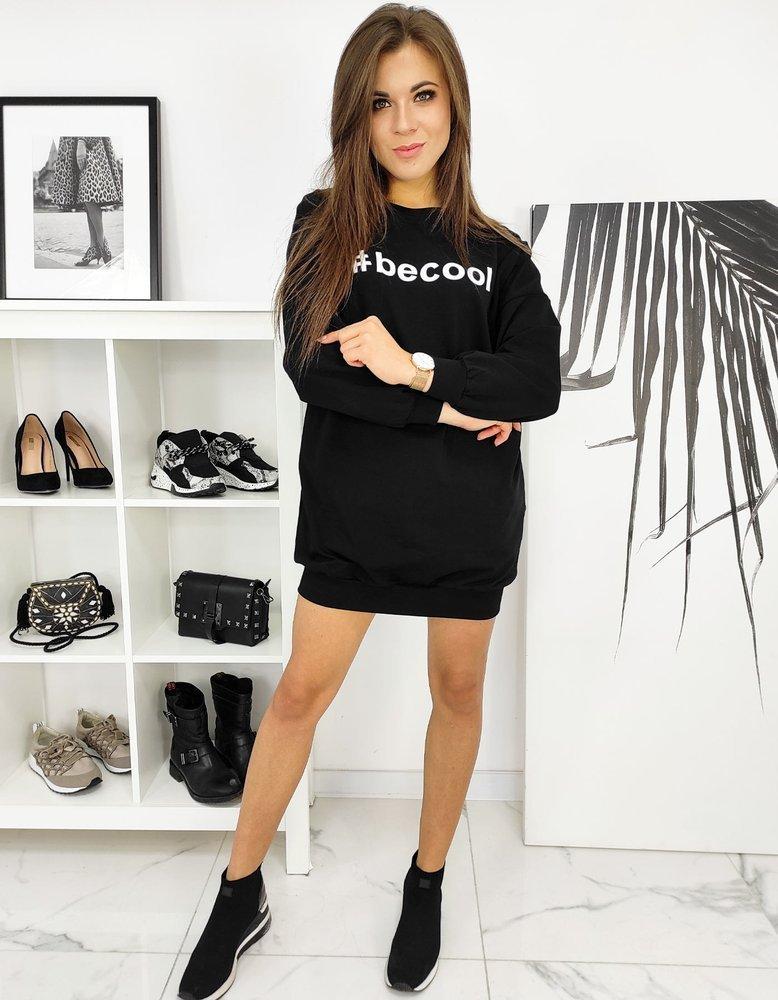 Sukienka tunika BECOOL czarna BY0619