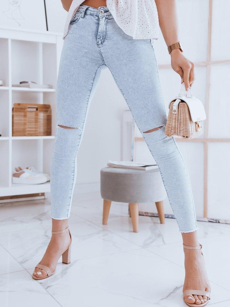 Spodnie damskie jeansowe THINA niebieskie Dstreet UY0948