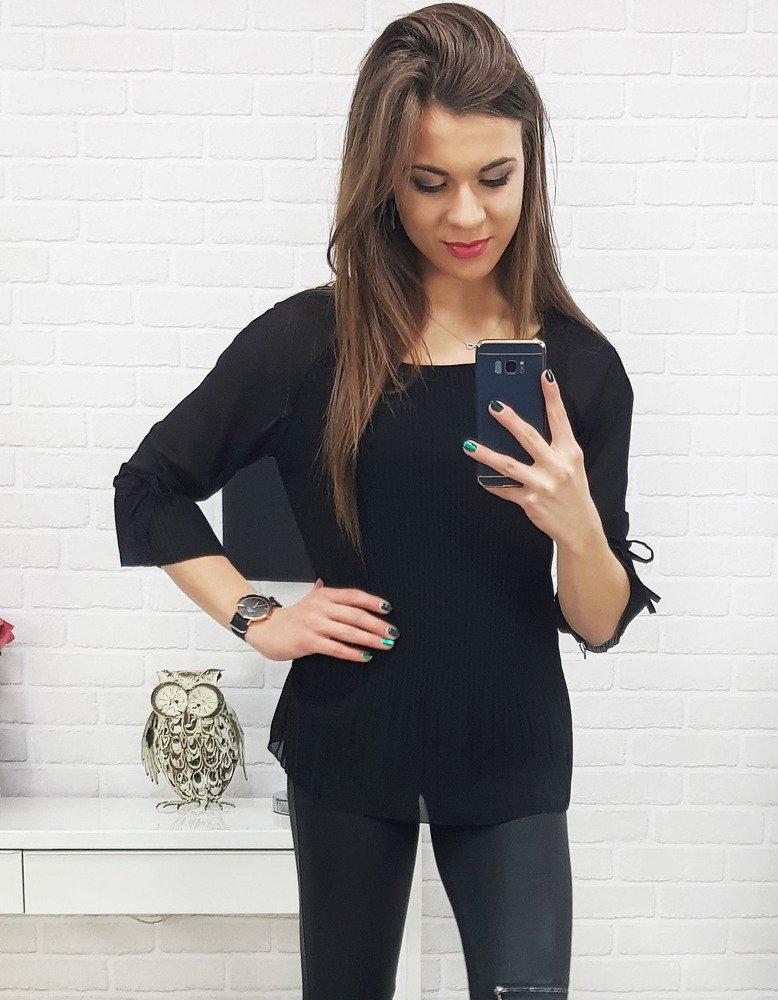 Bluzka damska ALENA czarna (ry0514)