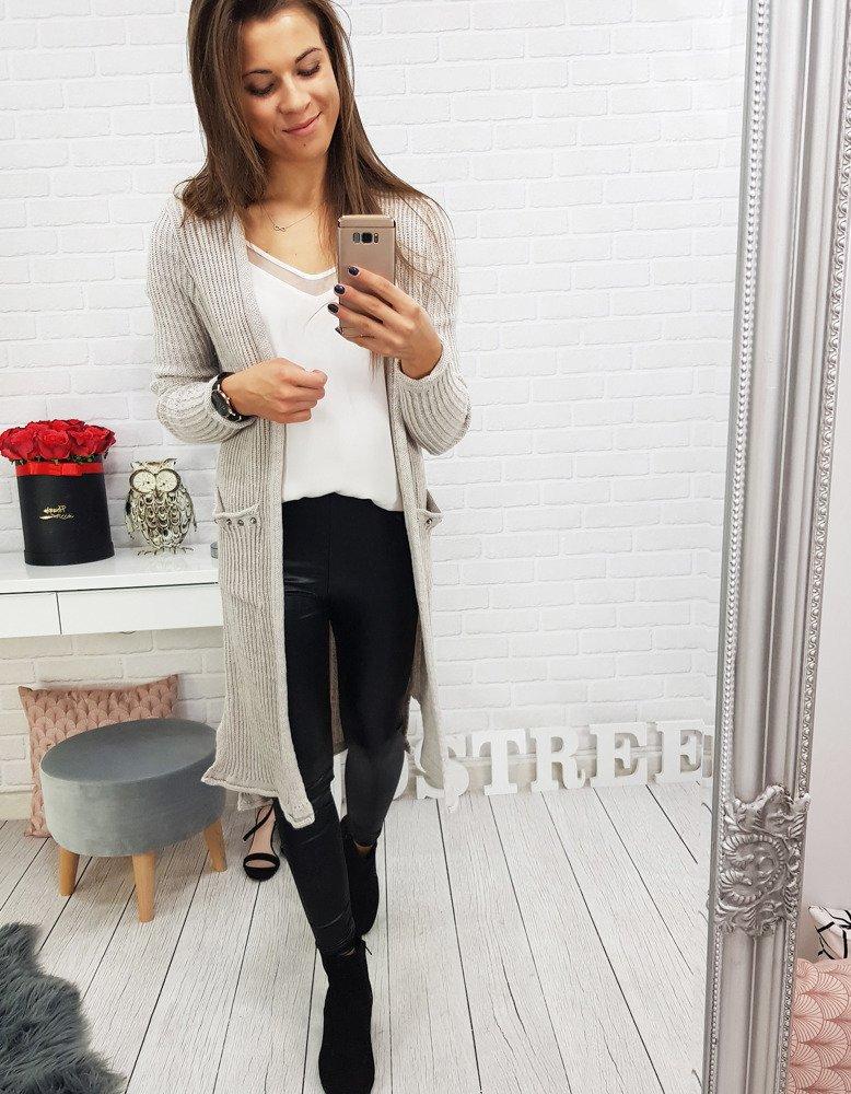 Moderný dlhý dámsky sveter(my0301)