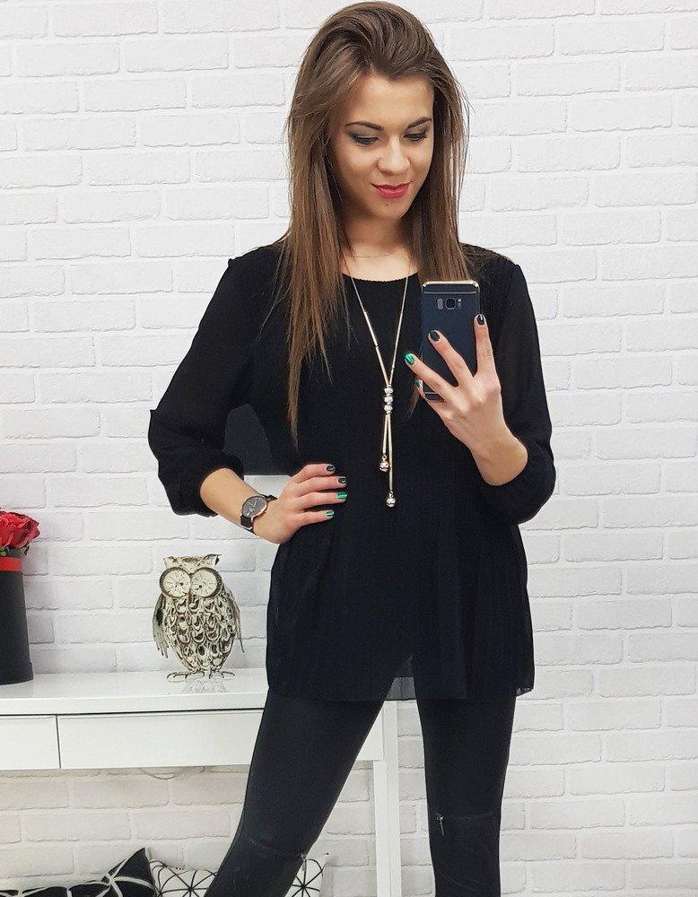Bluzka damska VIANA czarna RY0524