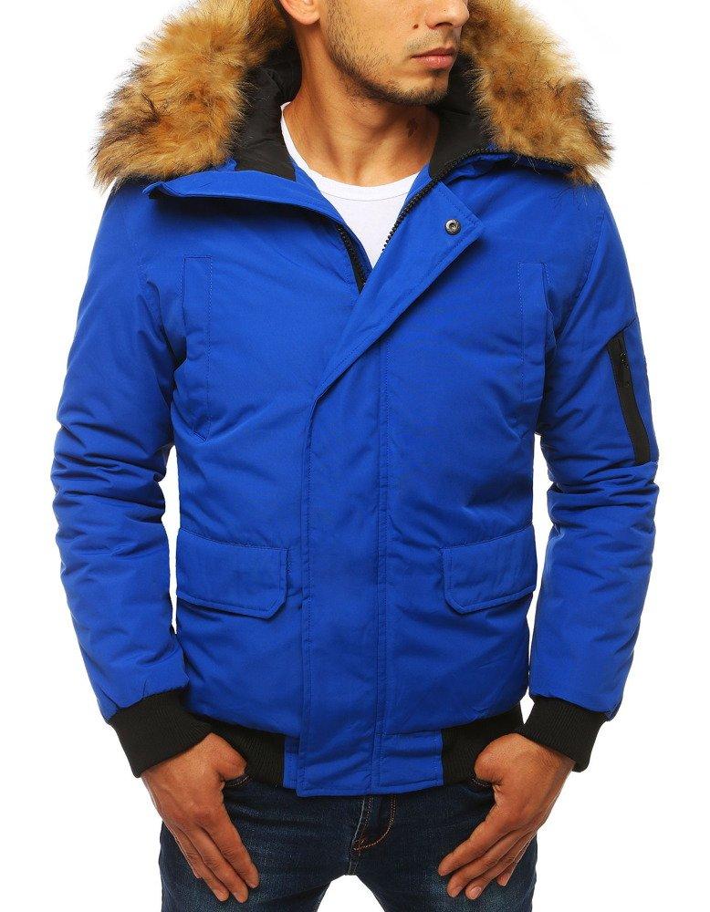 Modrá zimná bunda pre pánov (tx2871)