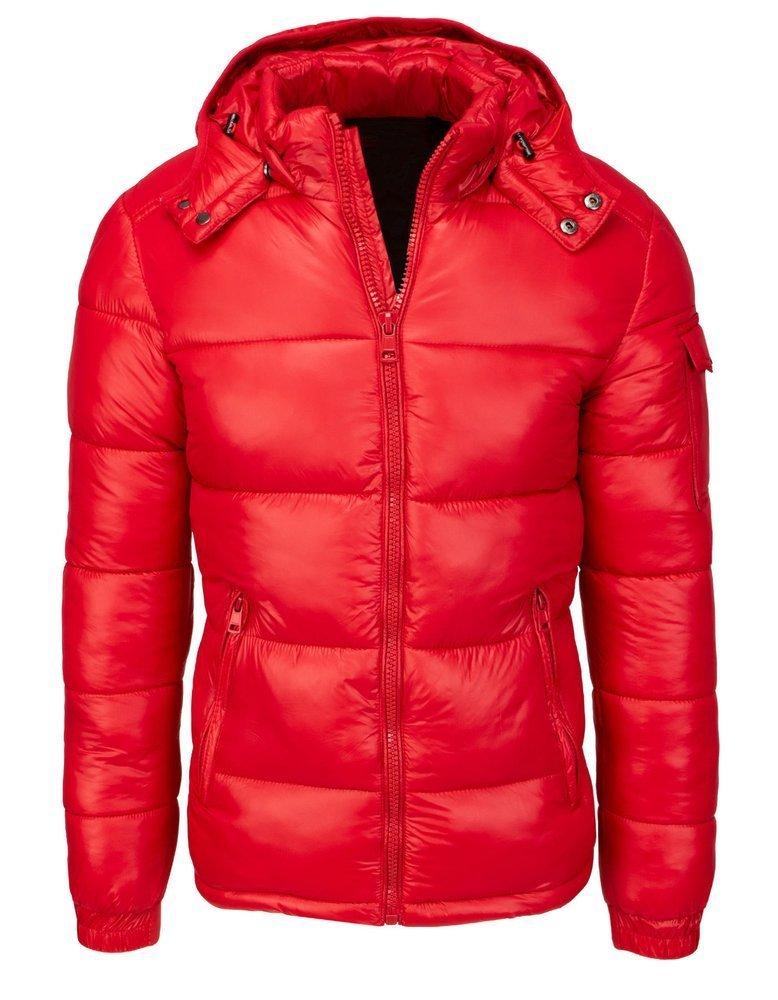 Originálna červená zimná bunda TX3534