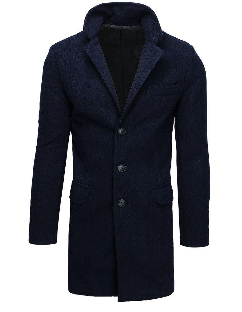 Jednoradový pánsky kabát / námornícka modrá