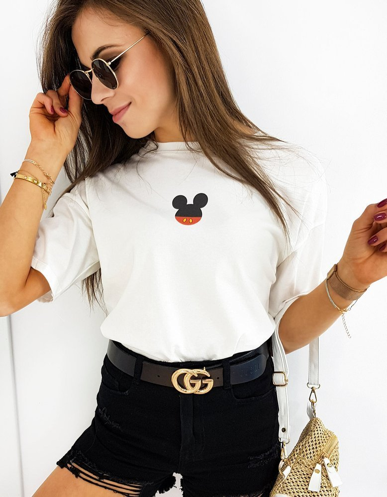 T-shirt damski MICKY MINI biały RY1417