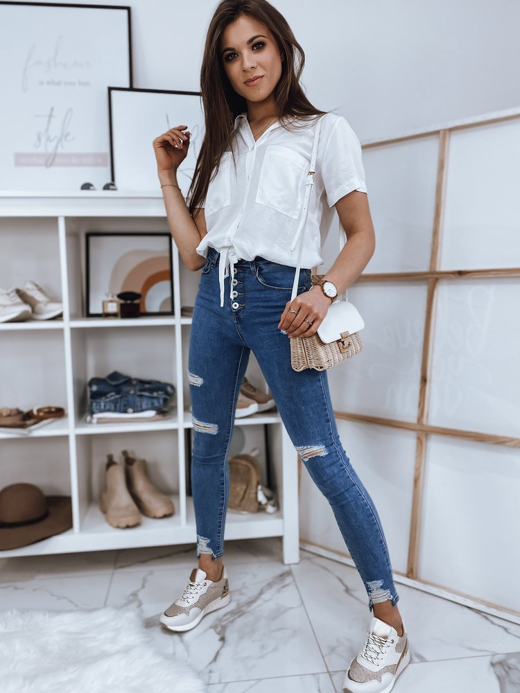 Bluzka damska ISADORA biała RY1600