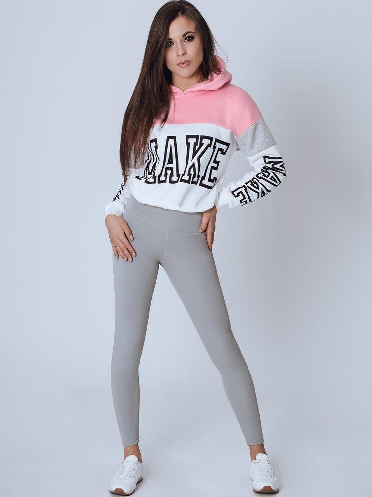 Bluza damska MAKE różowa BY0803