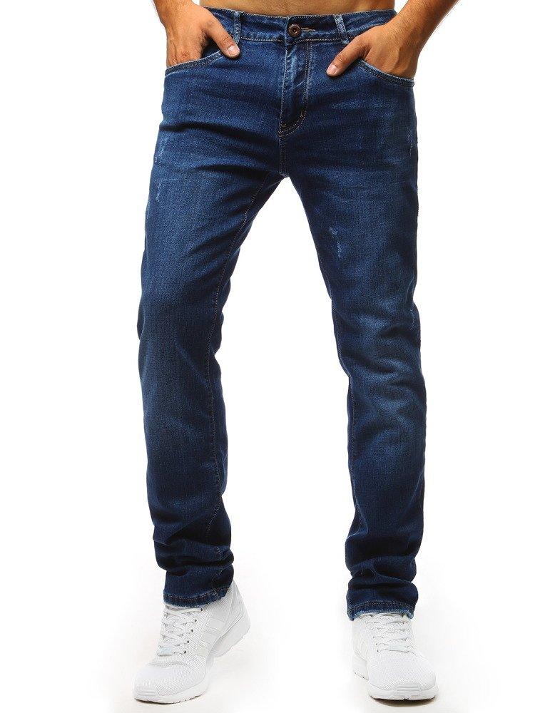Spodnie jeansowe męskie niebieskie UX1310