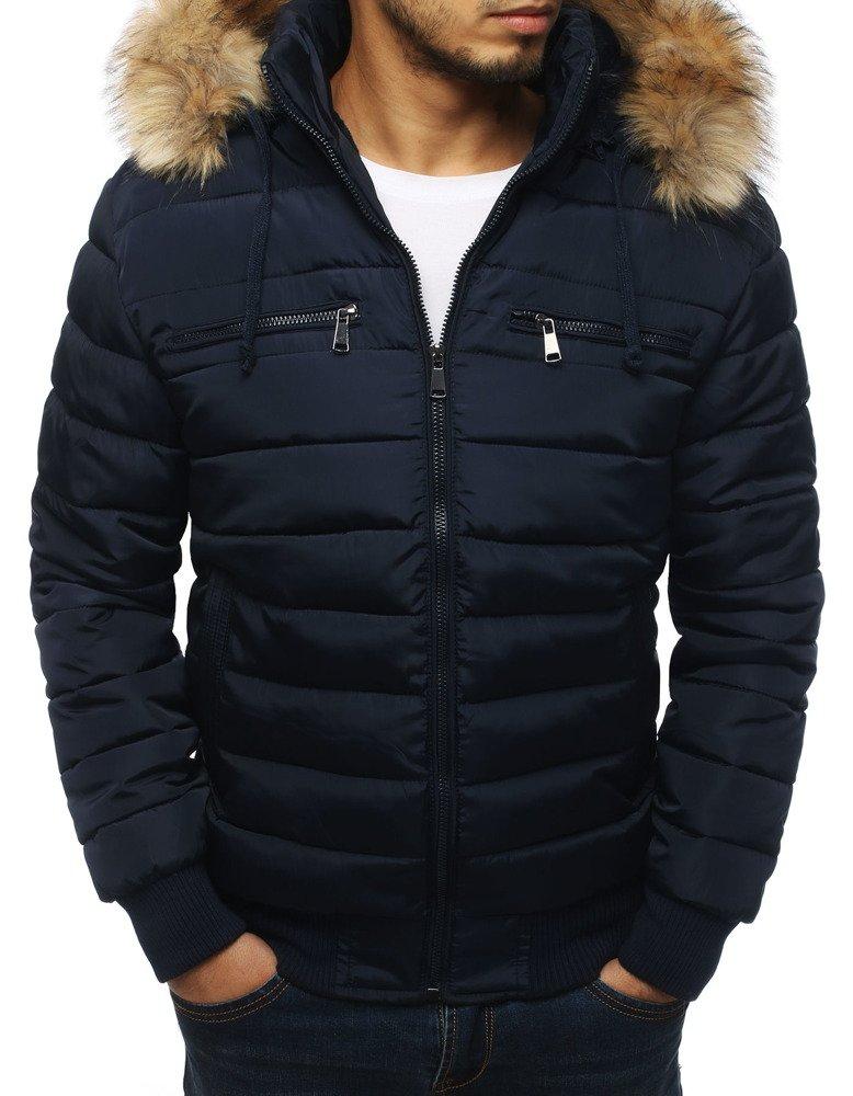 Trendová pánska zimná bunda (tx3027)