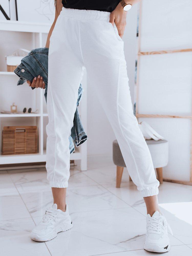 Spodnie damskie dresowe STIVEL białe Dstreet UY0927