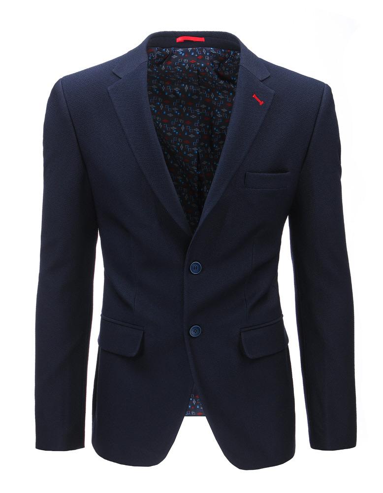 Moderné pánske sako granátovej farby (mx0371)