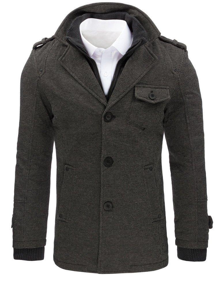 Trendový pánsky kabát (cx0404)