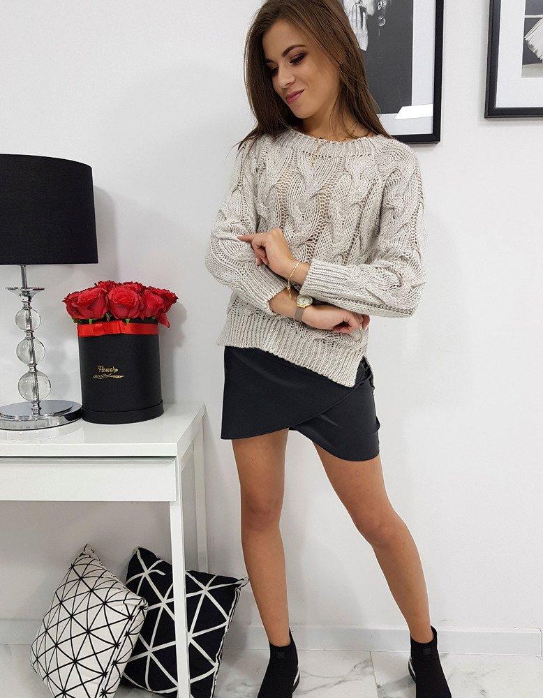 Sweter damski LISS beżowy MY0599