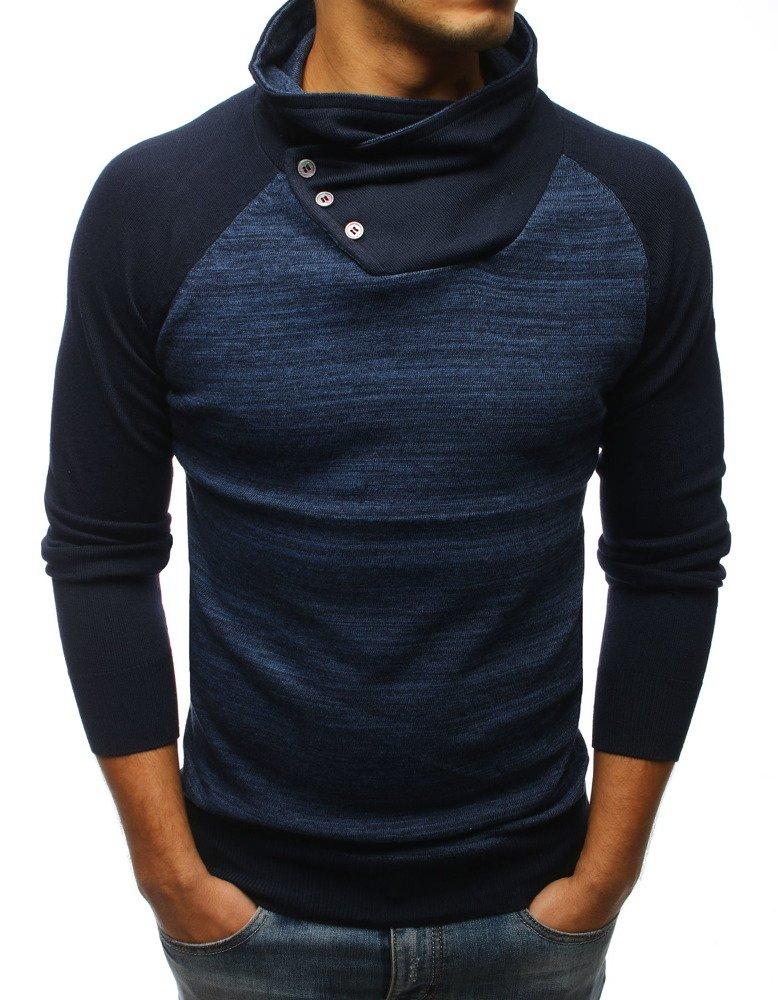 Pánsky sveter modrý