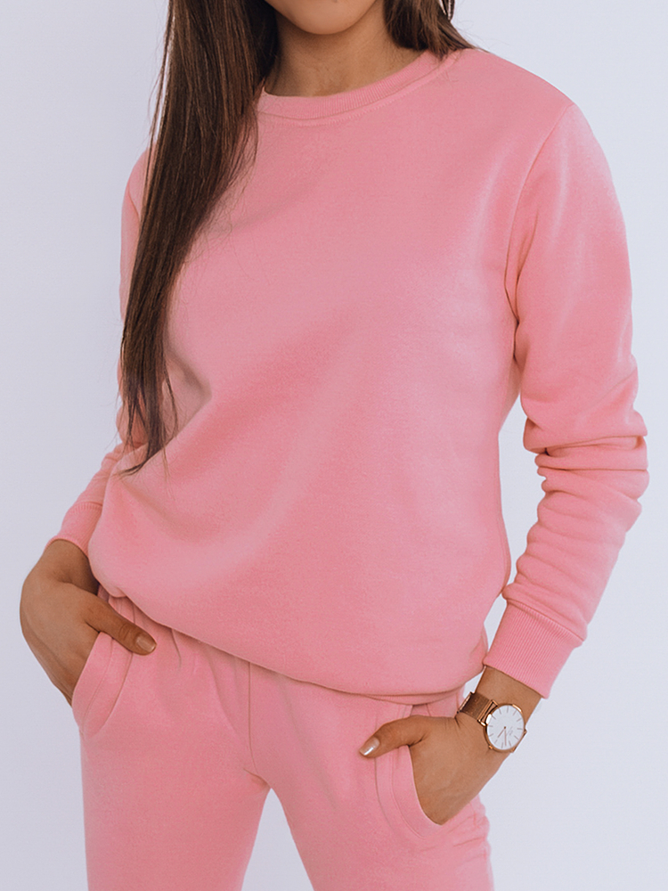 Bluza damska FASHION II różowa BY0322