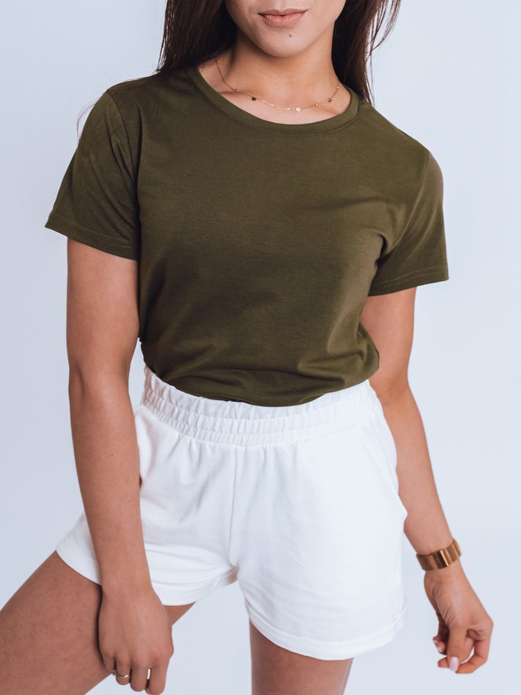 T-shirt damski MAYLA II ciemnozielony Dstreet RY1736