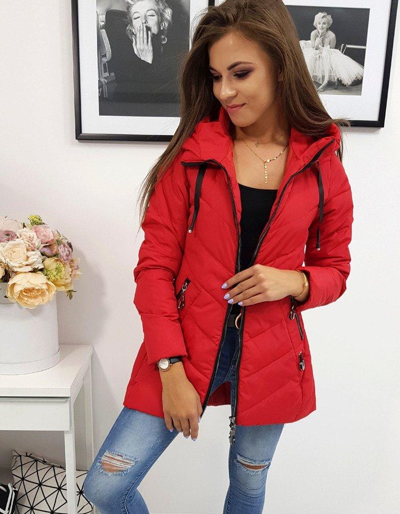 Kurtka damska VANDA czerwona (ty0602)