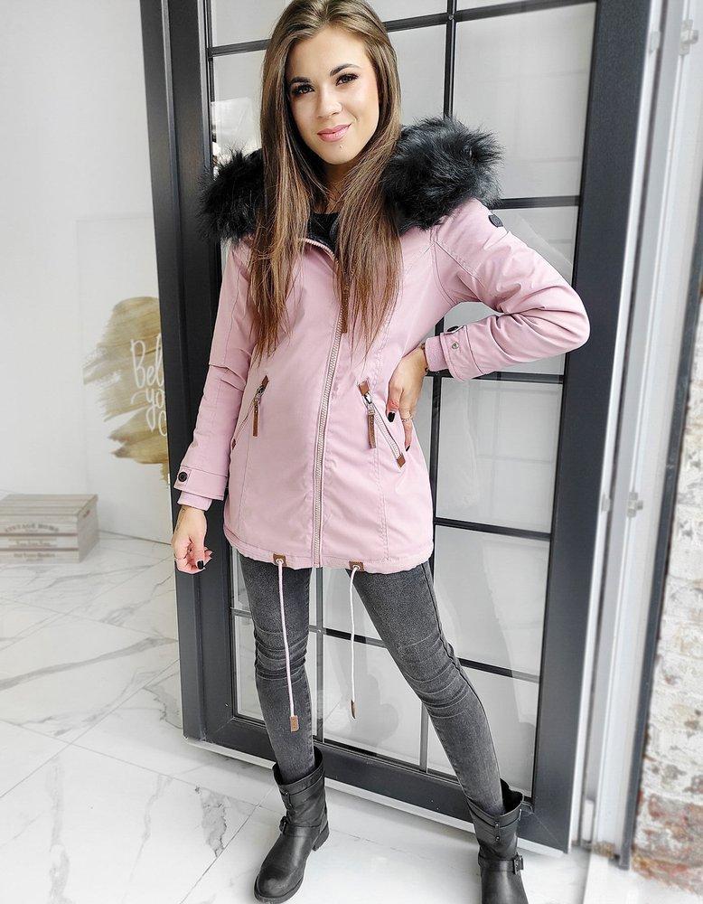 Kurtka damska zimowa FILA różowa TY1502