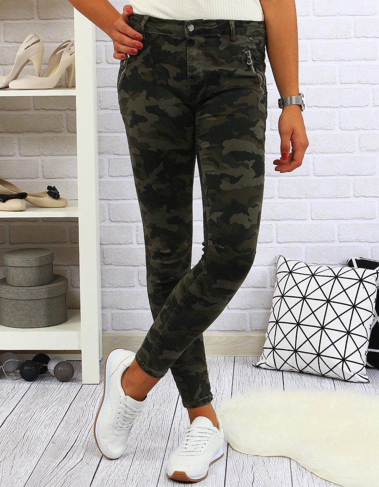 Spodnie damskie camo (uy0018)