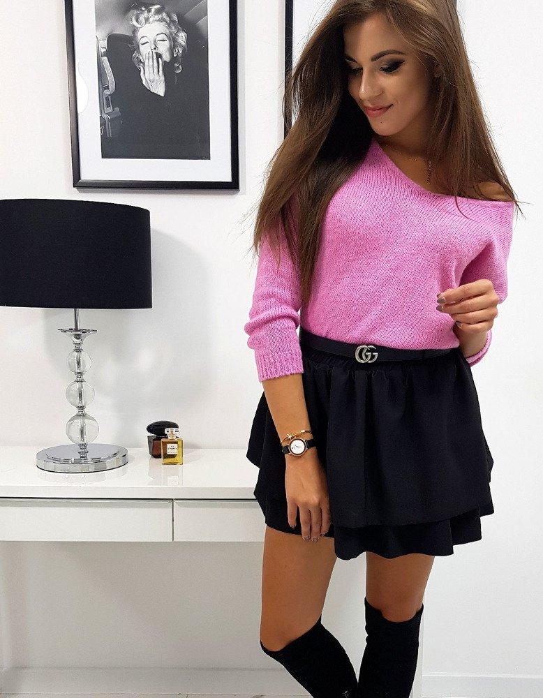 Sweter damski MILLAU różowy (my0566)