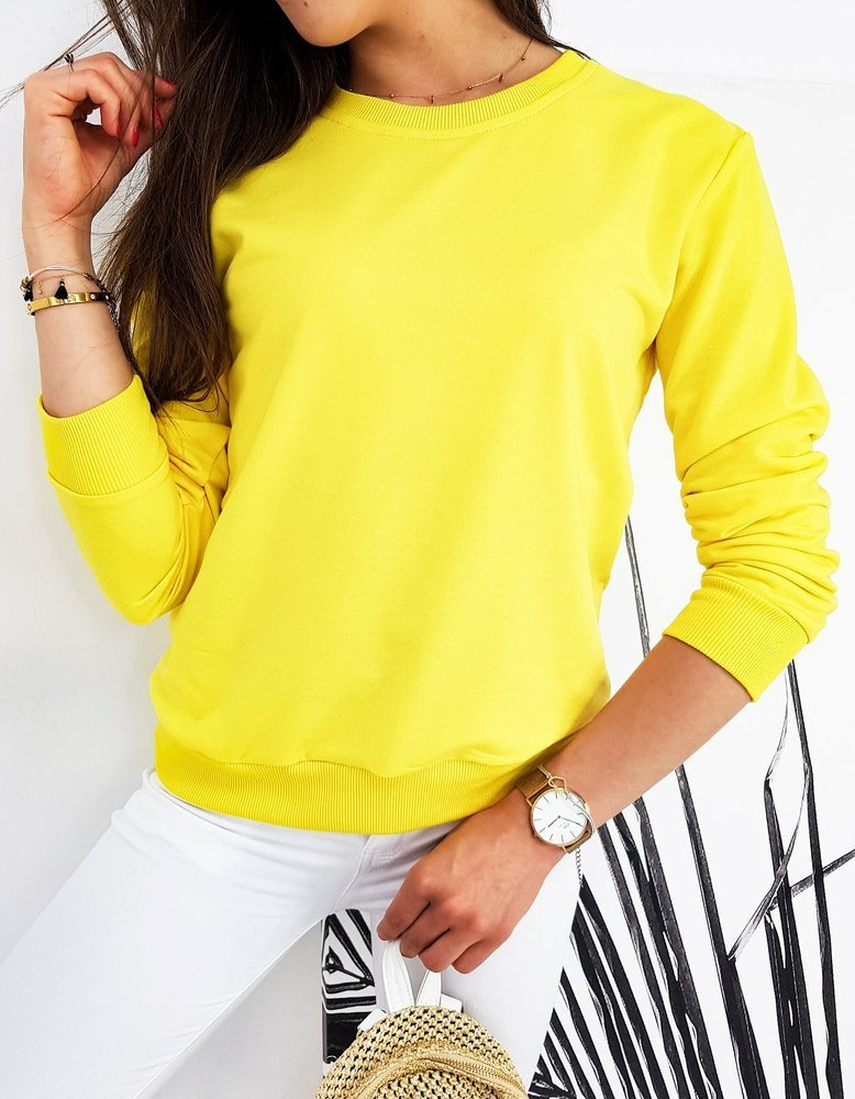 Bluza damska CARDIO żółta BY0431