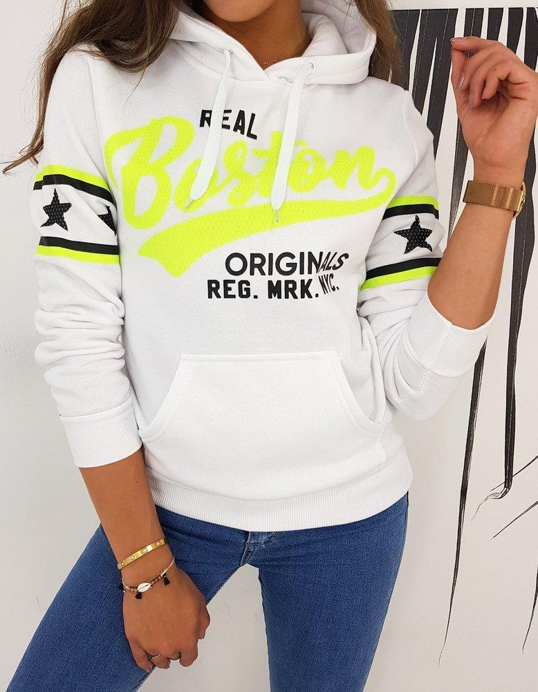 Bluza damska BOSTON biała BY0502