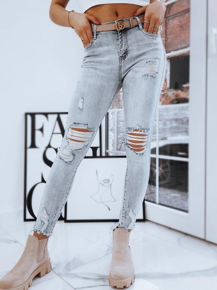 Spodnie damskie jeansowe CARY niebieskie Dstreet UY0717