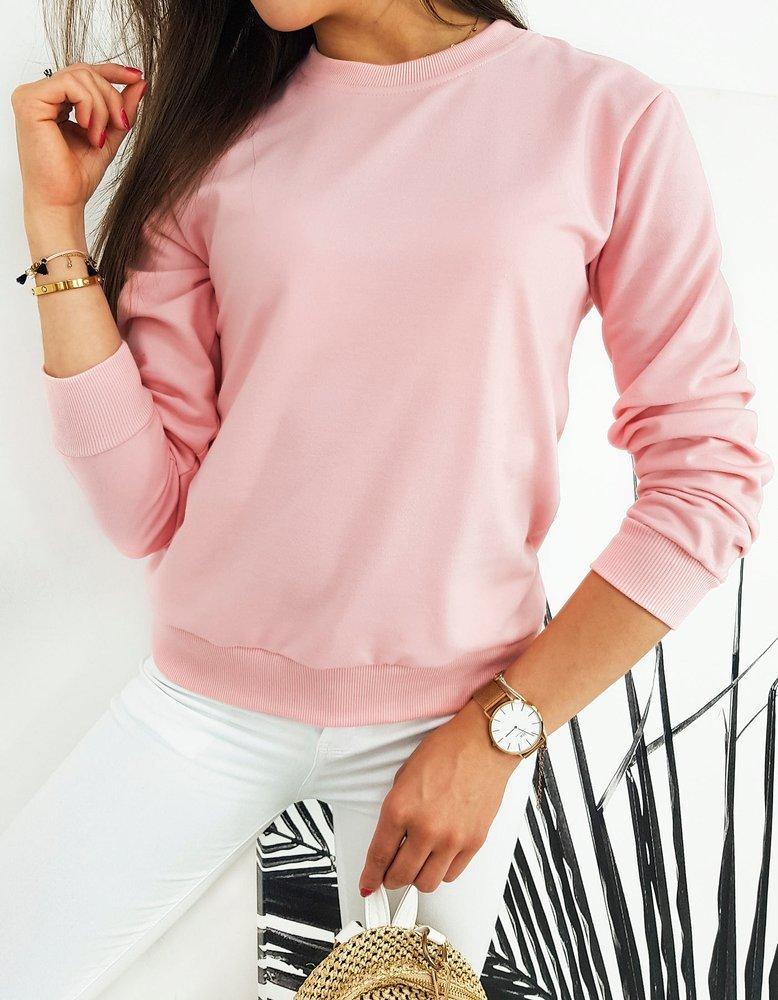 Bluza damska CARDIO jasnoróżowa BY0441