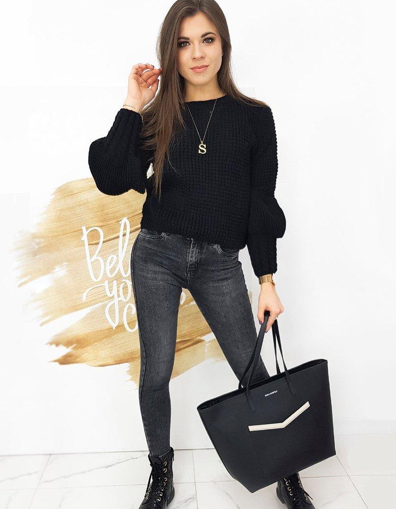 Sweter damski AMAYA czarny MY0884