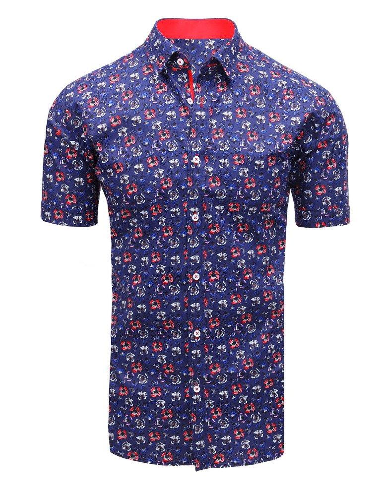 Pánska košeľa námornícka modrá