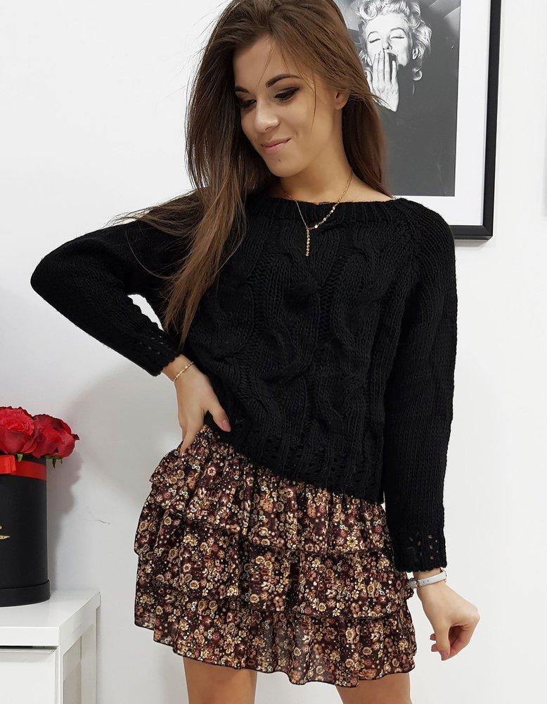 Sweter damski AVIENE czarny MY0685