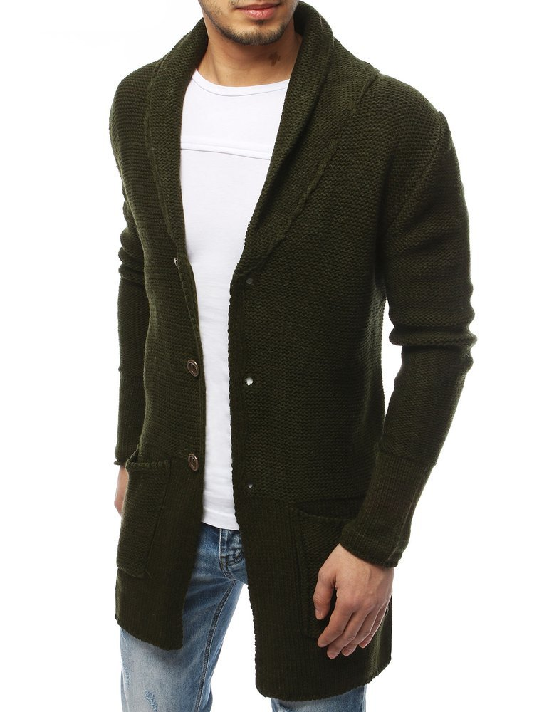 Pánsky sveter khaki
