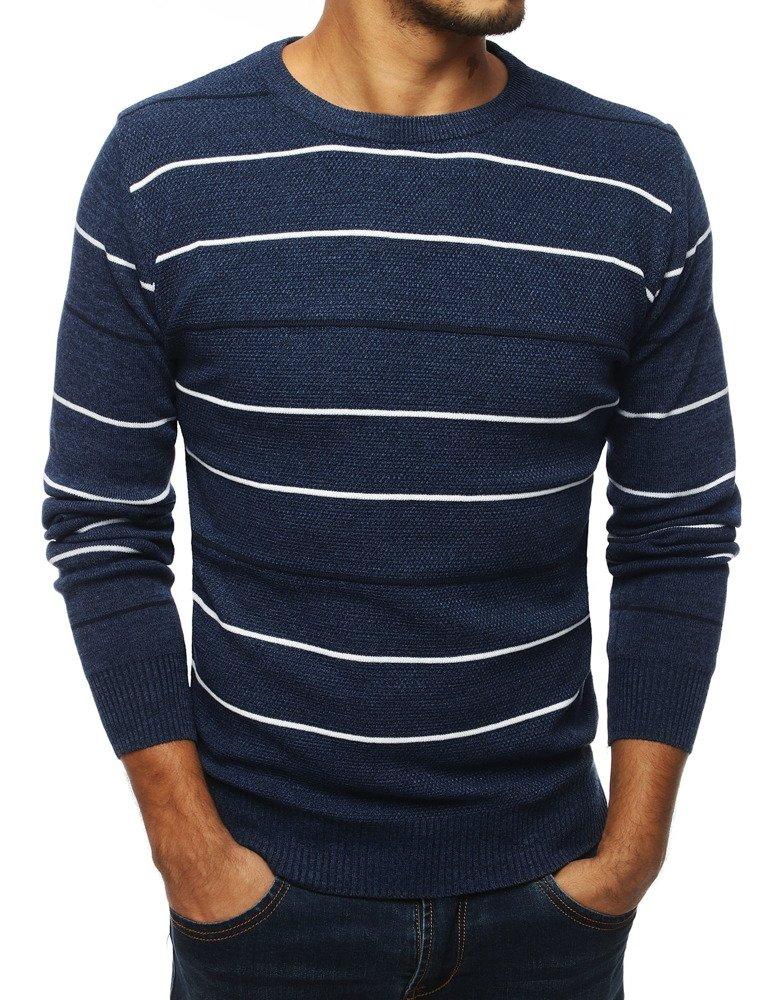 Modrý pánsky sveter (wx1336)