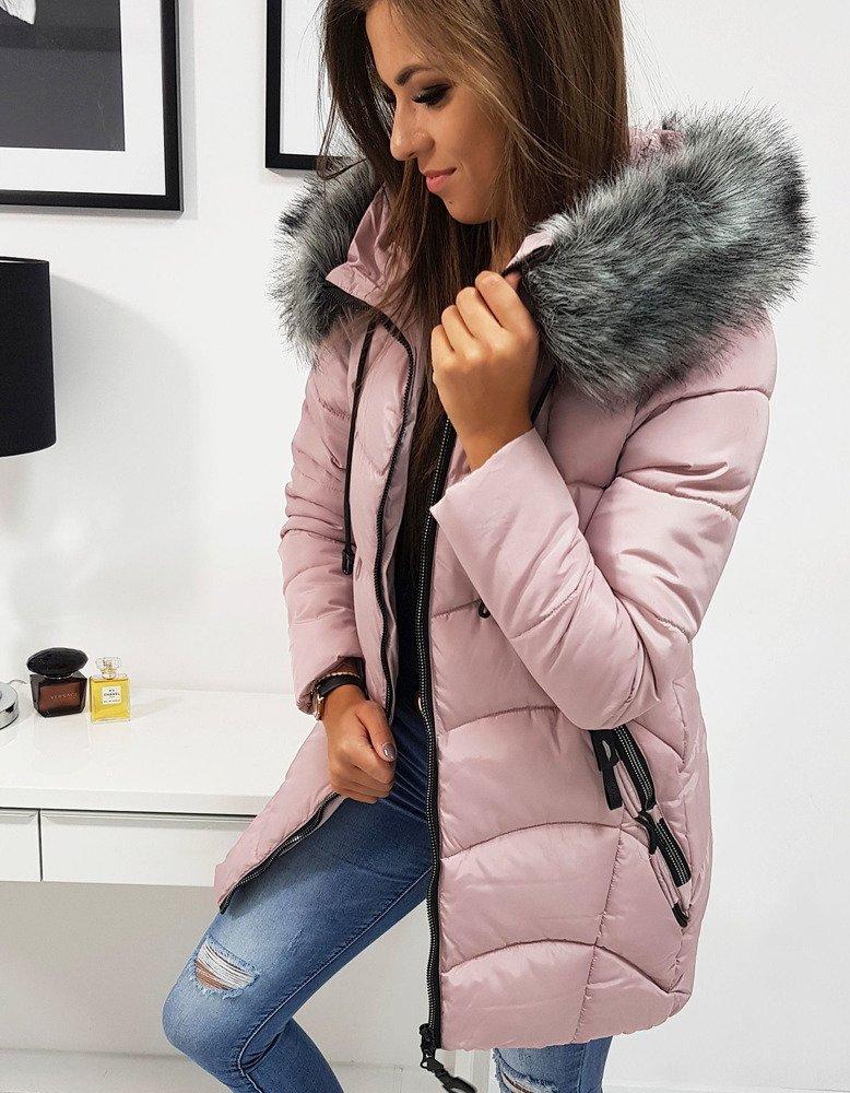 Ružová zimná bunda VALBO (ty0517)