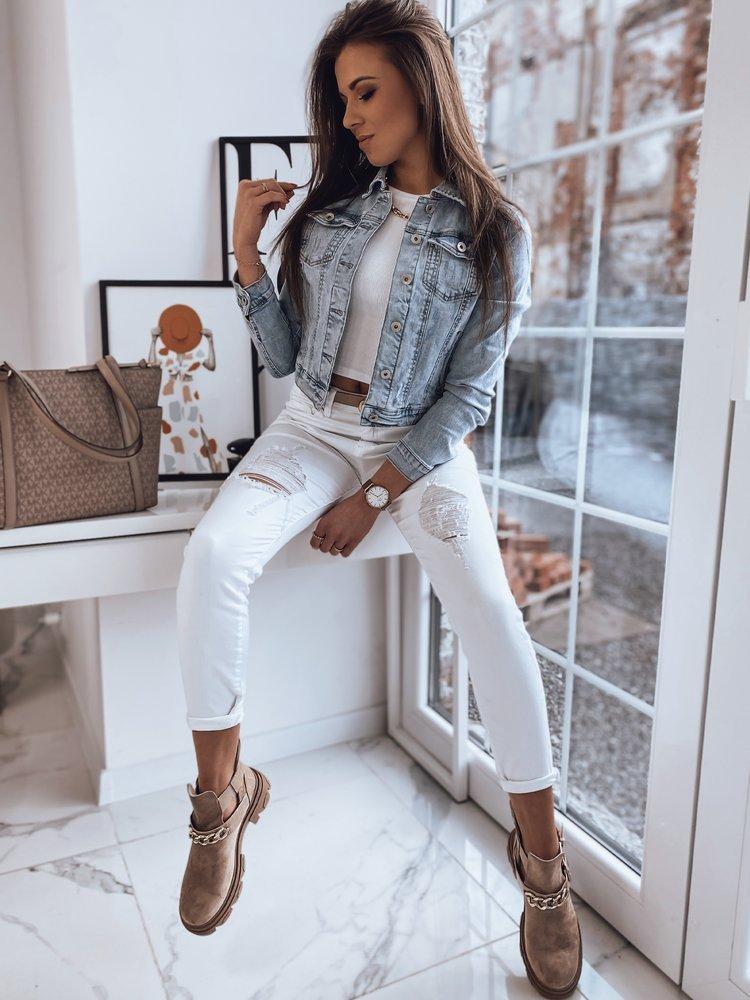 Kurtka damska jeansowa BONA niebieska TY1671