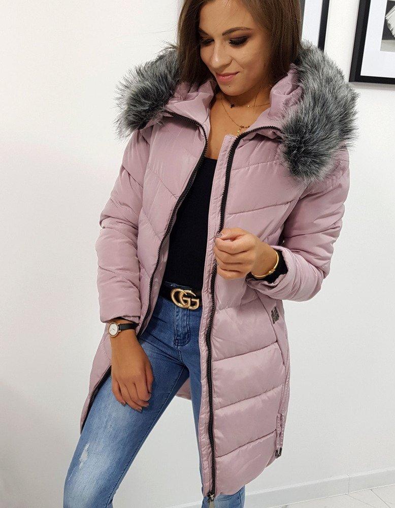 Jedinečná ružová zimná bunda CARAT (ty0770)