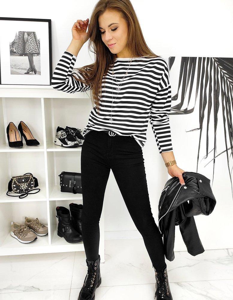 Spodnie damskie jenasowe DEXTERO czarne UY0635