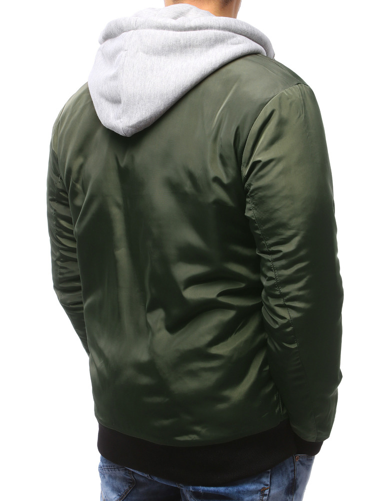 ef1c7353fcbe Pánska bunda bomber jacket zelená. 15125  15125  15125  15125  15125